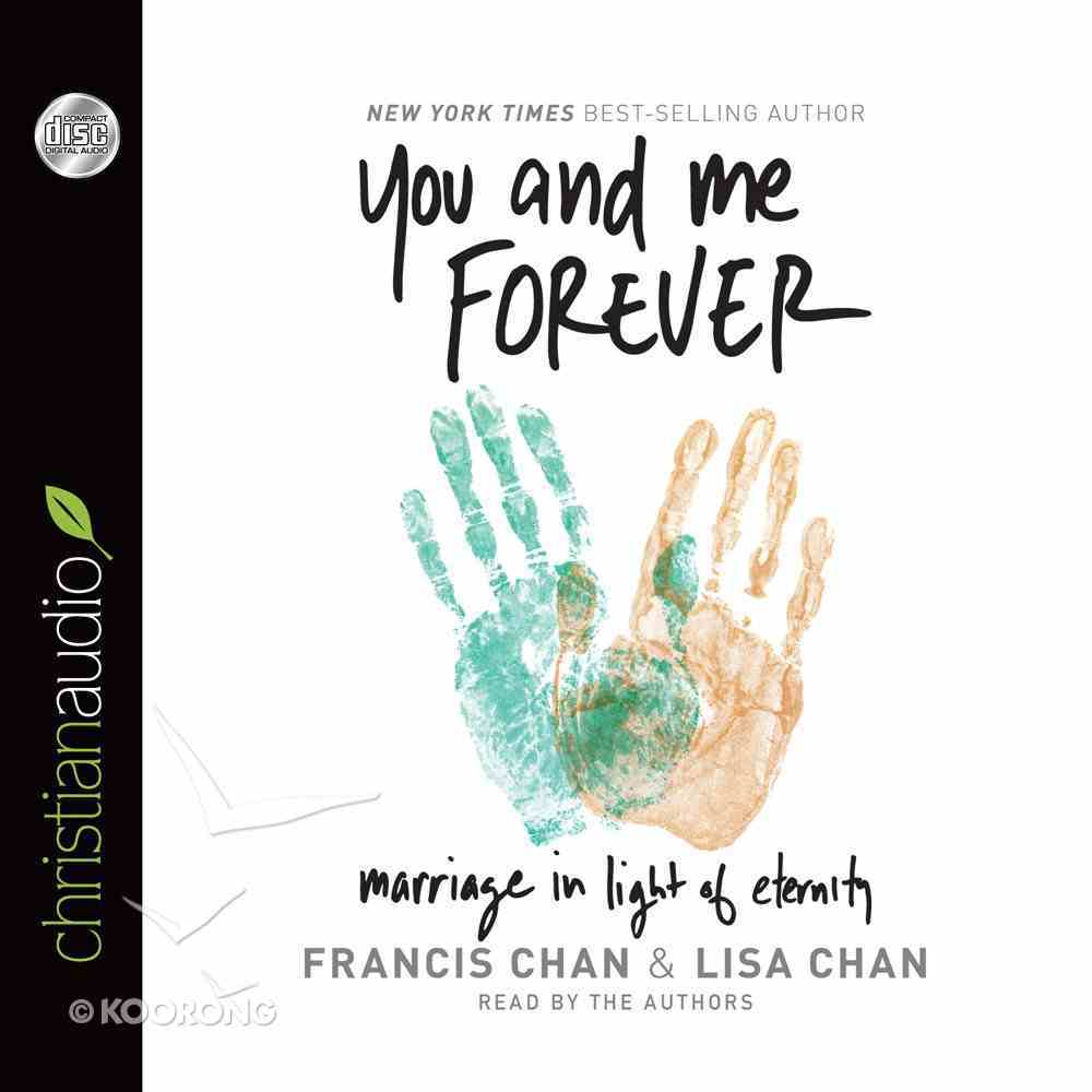 You and Me Forever (Unabridged, 4 Cds) CD