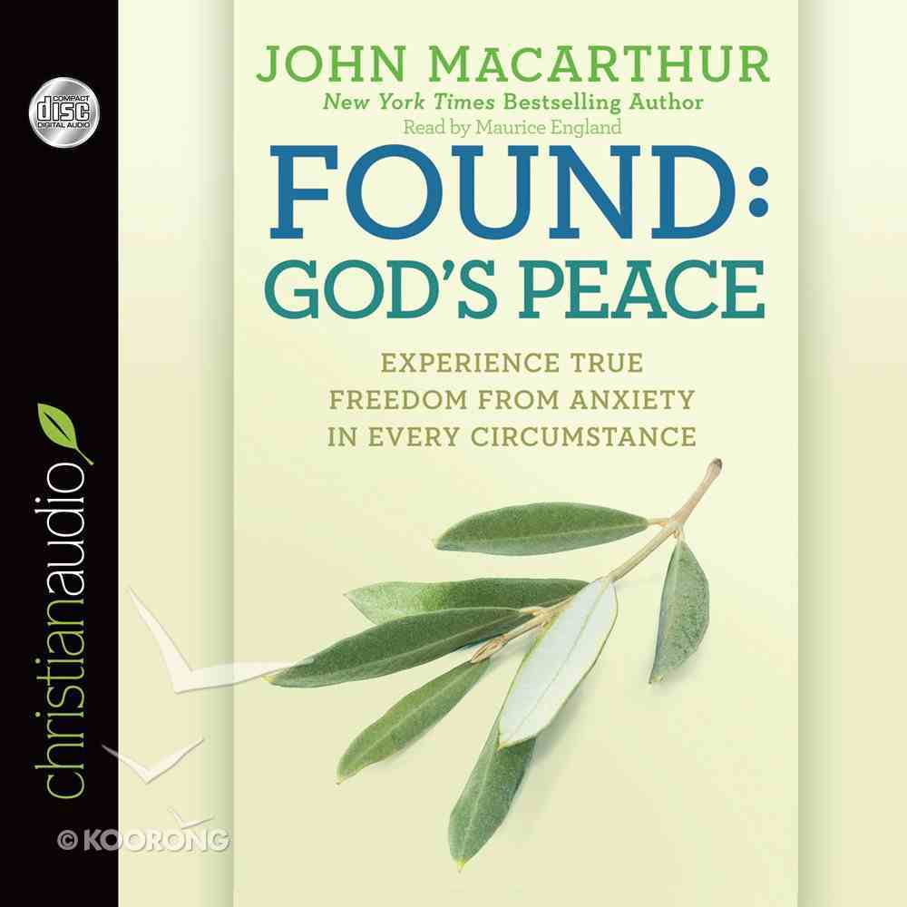 Found: God's Peace eAudio Book