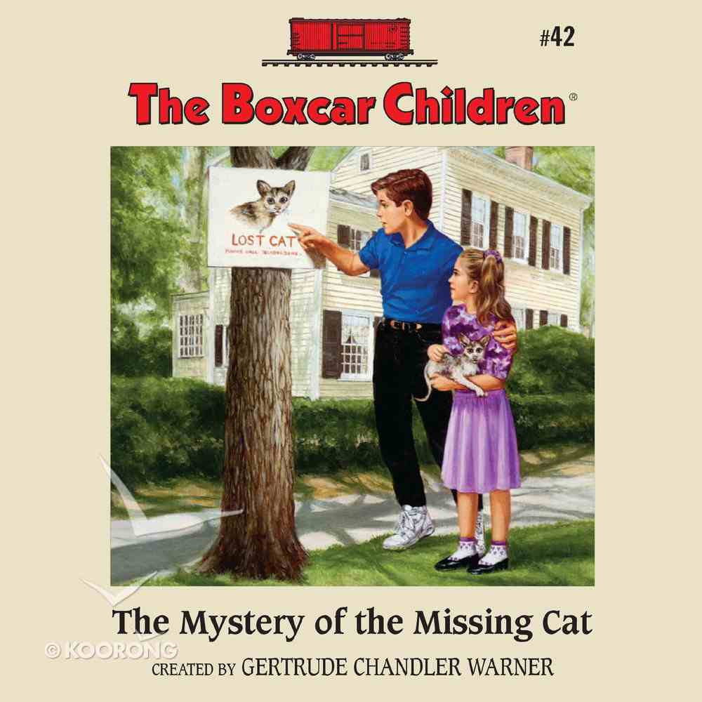 The Mystery of the Missing Cat eAudio Book