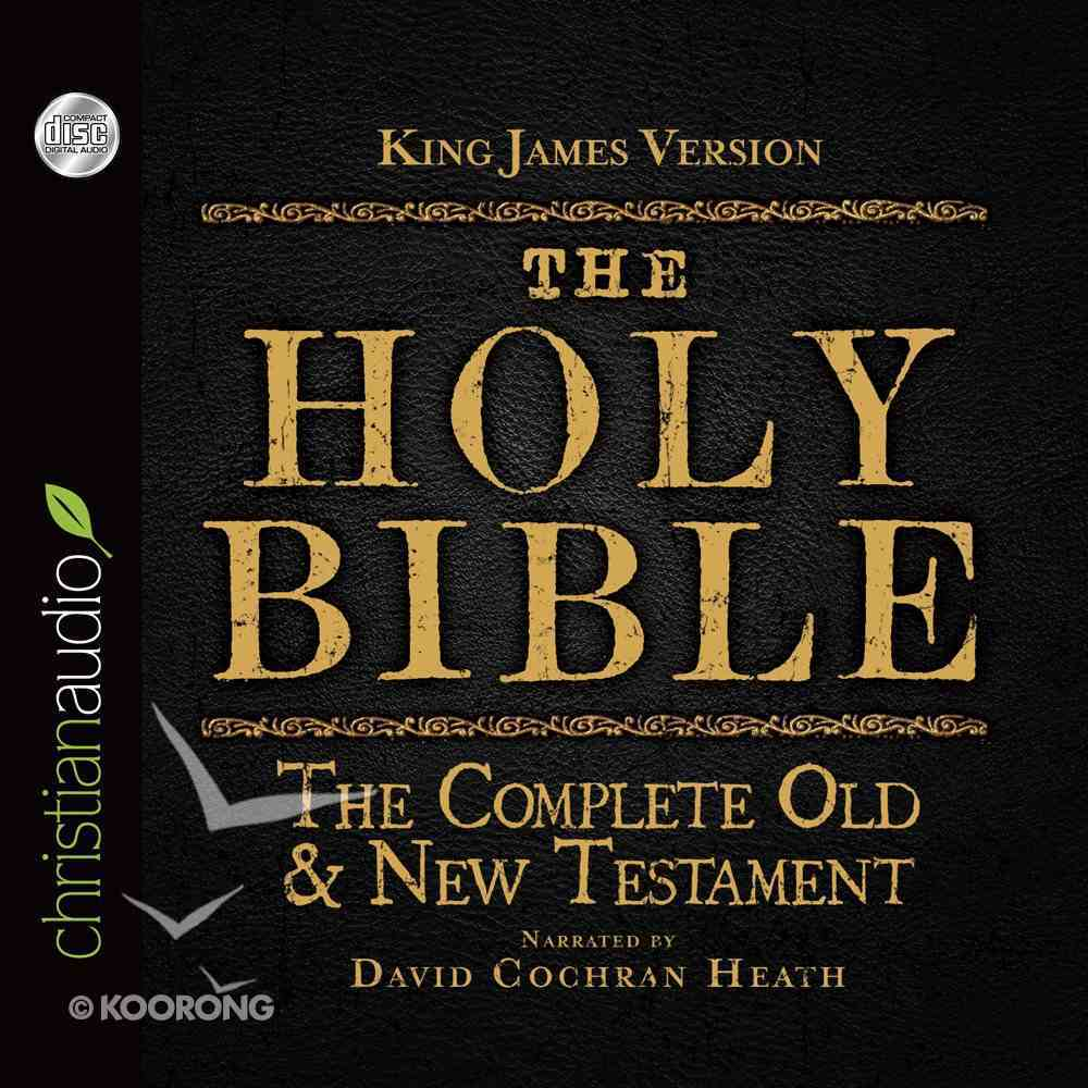 The Holy Bible in Audio - King James Version eAudio Book