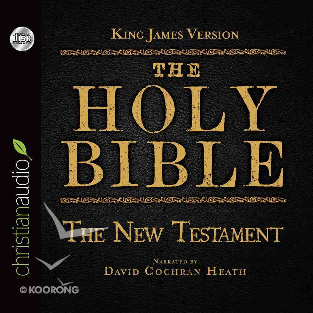 Holy Bible in Audio - King James Version: The the New Testament eAudio Book