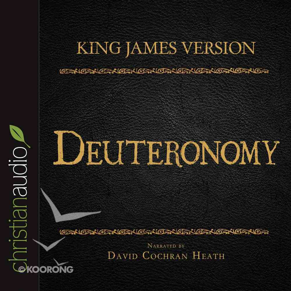 Holy Bible in Audio - King James Version: The Deuteronomy eAudio Book