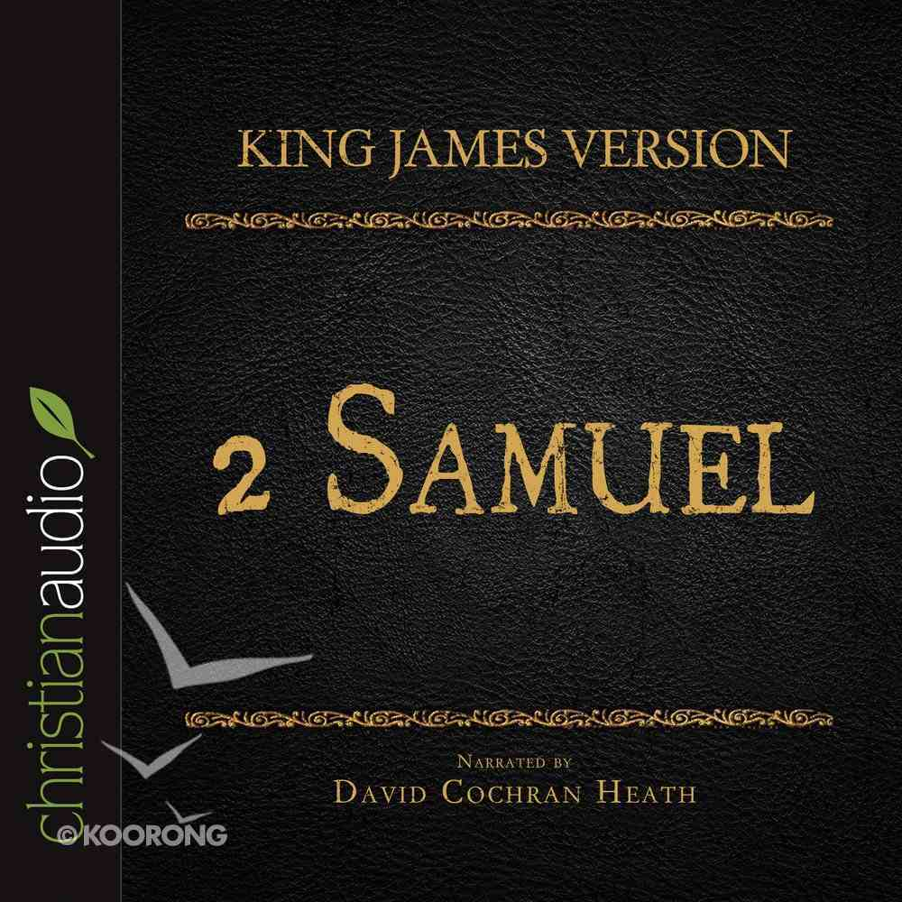 Holy Bible in Audio - King James Version: The 2 Samuel eAudio Book