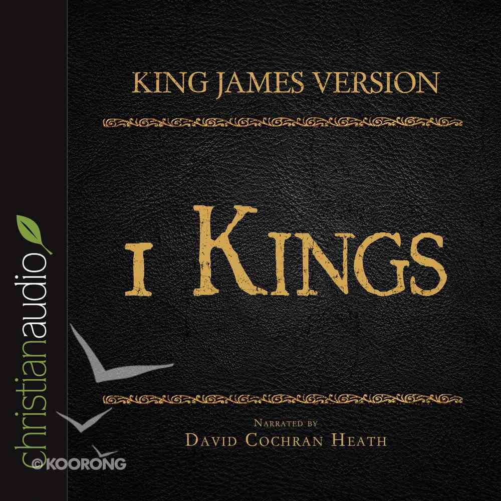 Holy Bible in Audio - King James Version: The 1 Kings eAudio Book