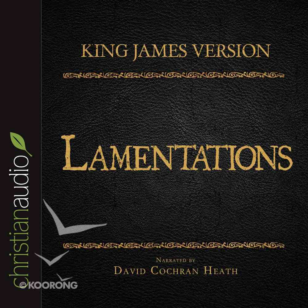 Holy Bible in Audio - King James Version: The Lamentations eAudio Book