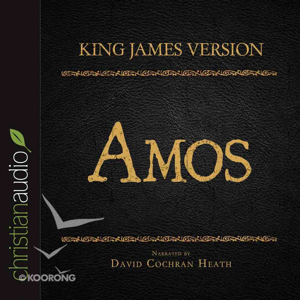 Holy Bible in Audio - King James Version: The Amos eAudio Book