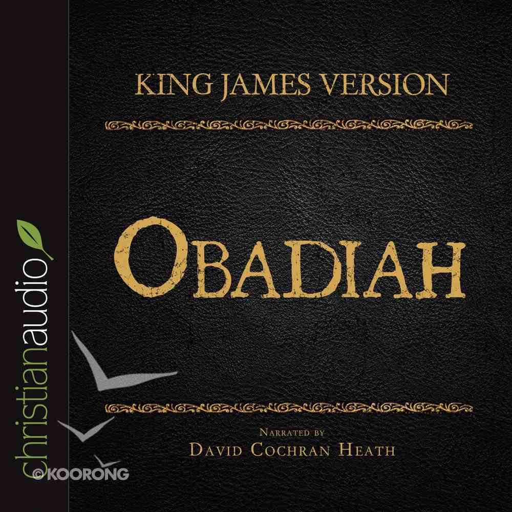 Holy Bible in Audio - King James Version: The Obadiah eAudio Book