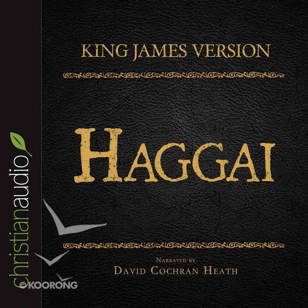 Holy Bible in Audio - King James Version: The Haggai eAudio Book