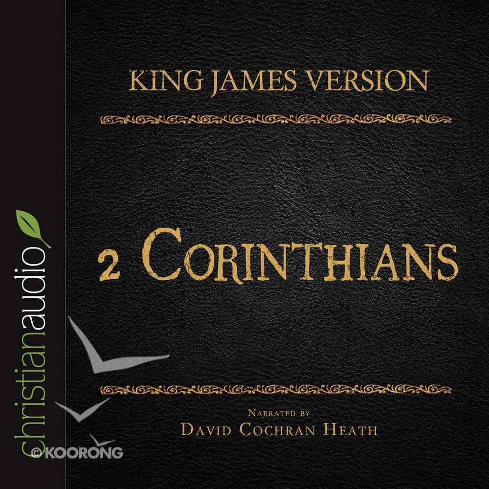 Holy Bible in Audio - King James Version: The 2 Corinthians eAudio Book