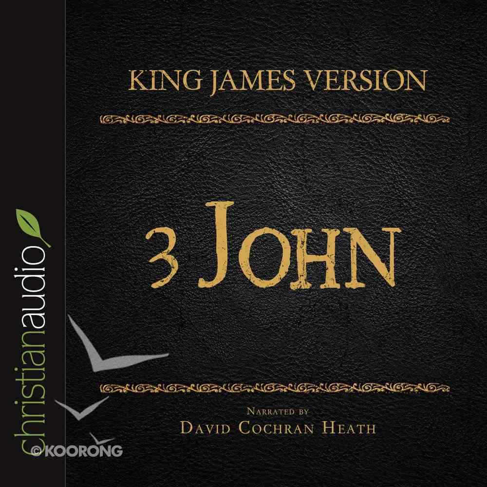 Holy Bible in Audio - King James Version: The 3 John eAudio Book