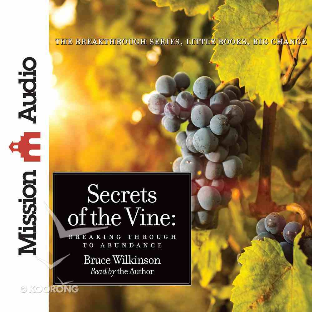 Secrets of the Vine eAudio Book