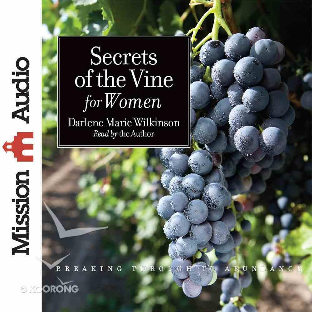 Secrets of the Vine For Women eAudio Book