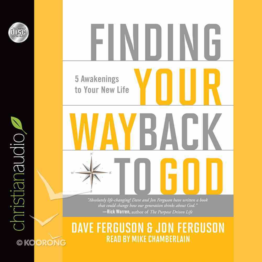 Finding Your Way Back to God eAudio Book