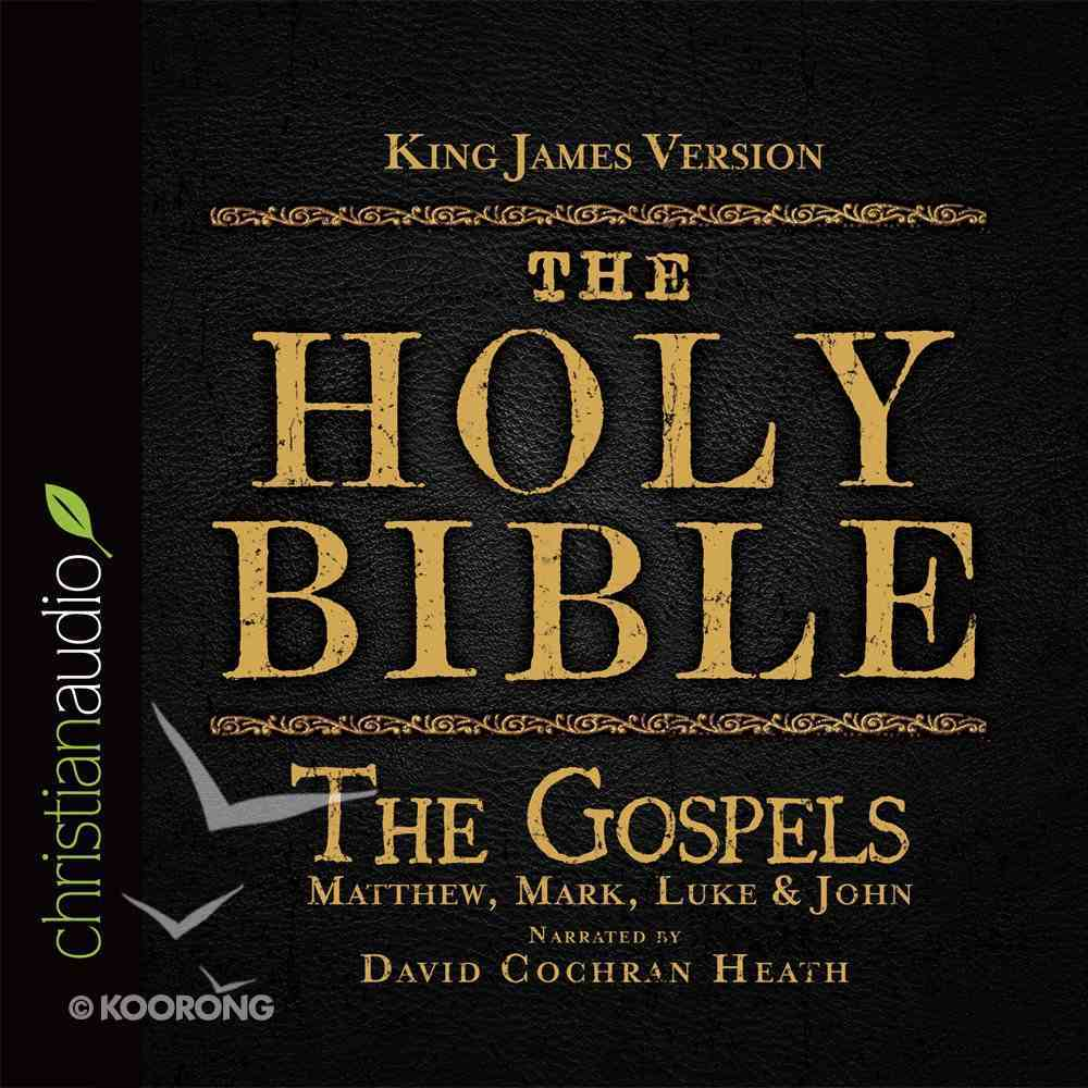 Holy Bible in Audio - King James Version: The the Gospels eAudio Book