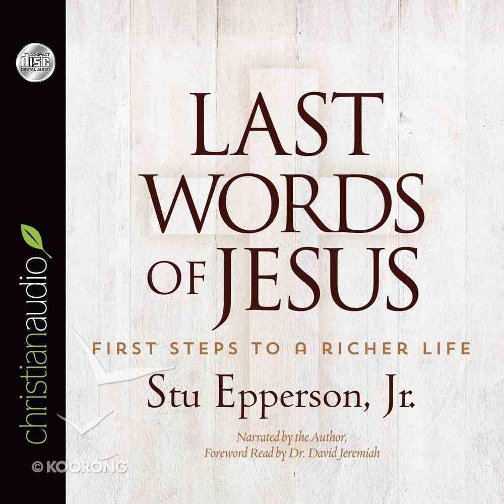 Last Words of Jesus eAudio Book