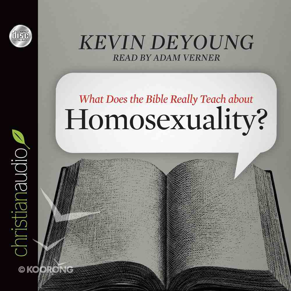 What Does the Bible Really Teach About Homosexuality? (Unabridged, 3 Cds) CD