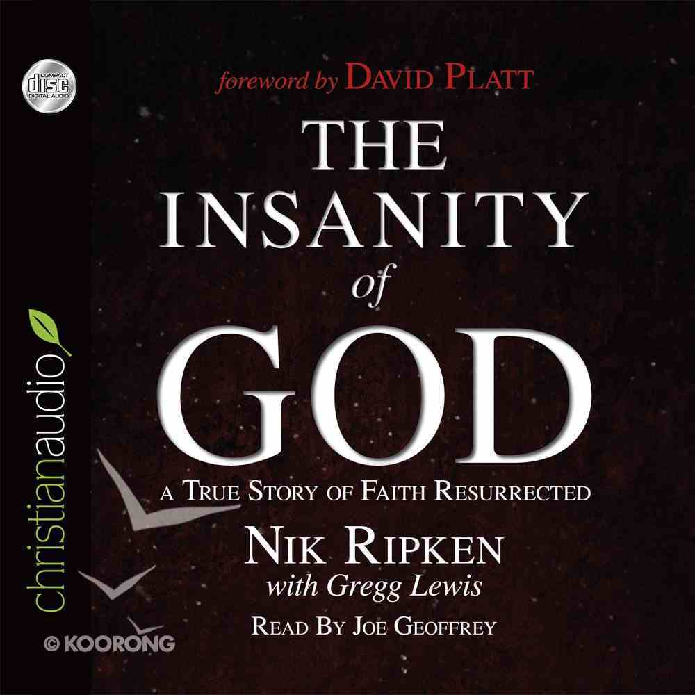 The Insanity of God eAudio Book