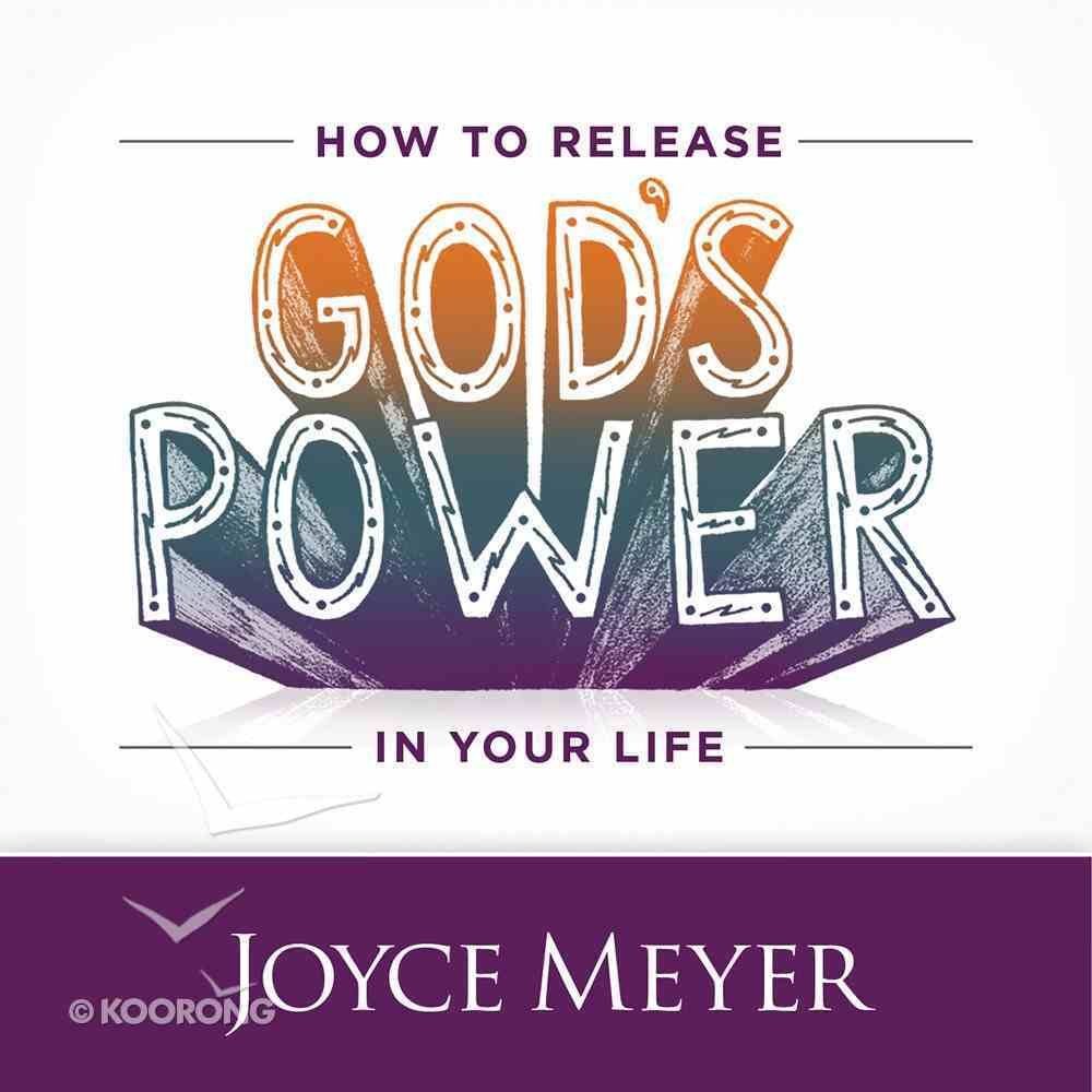 How to Release God's Power in Your Life eAudio Book