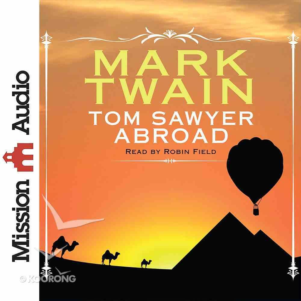 Tom Sawyer Abroad eAudio Book