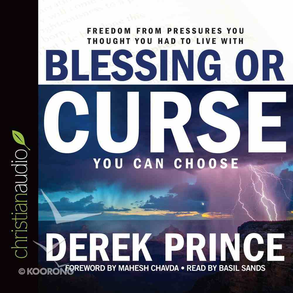 Blessing Or Curse (Unabridged, 8 Cds) CD