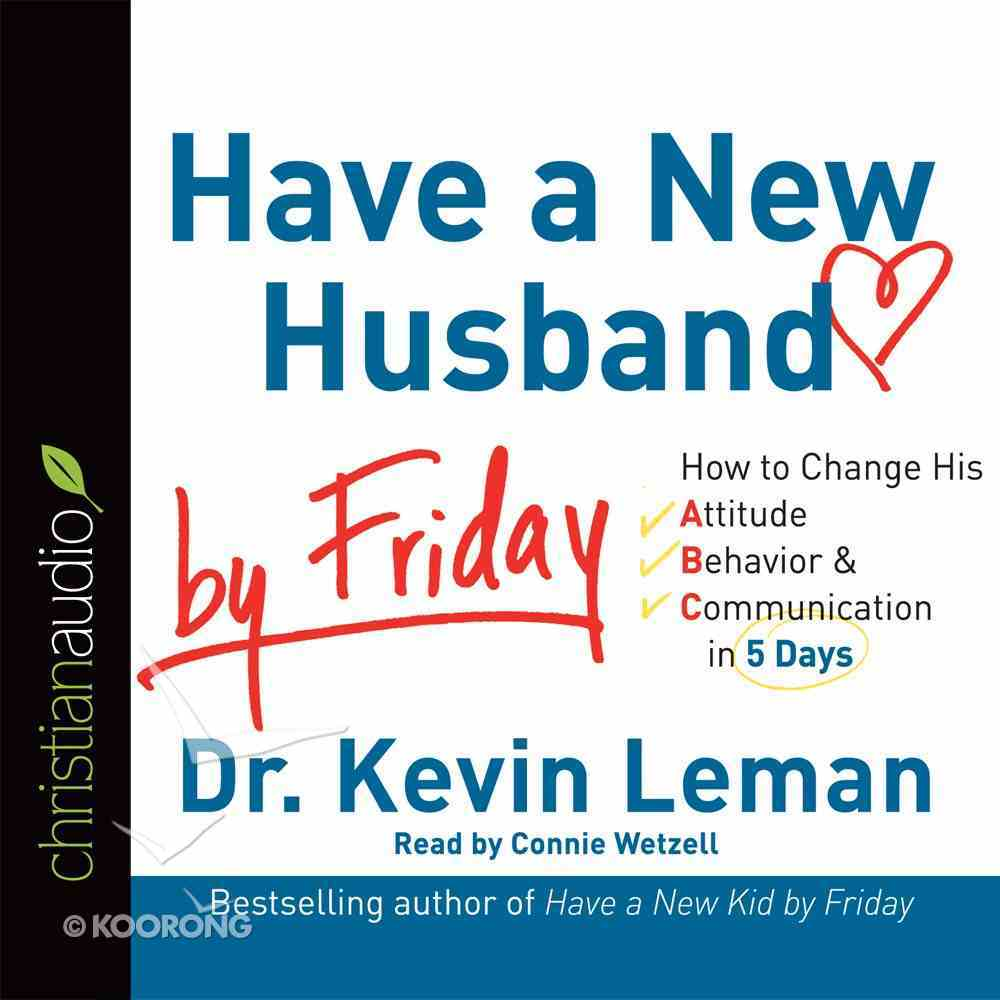 Have a New Husband By Friday (Unabridged, 4 Cds) CD
