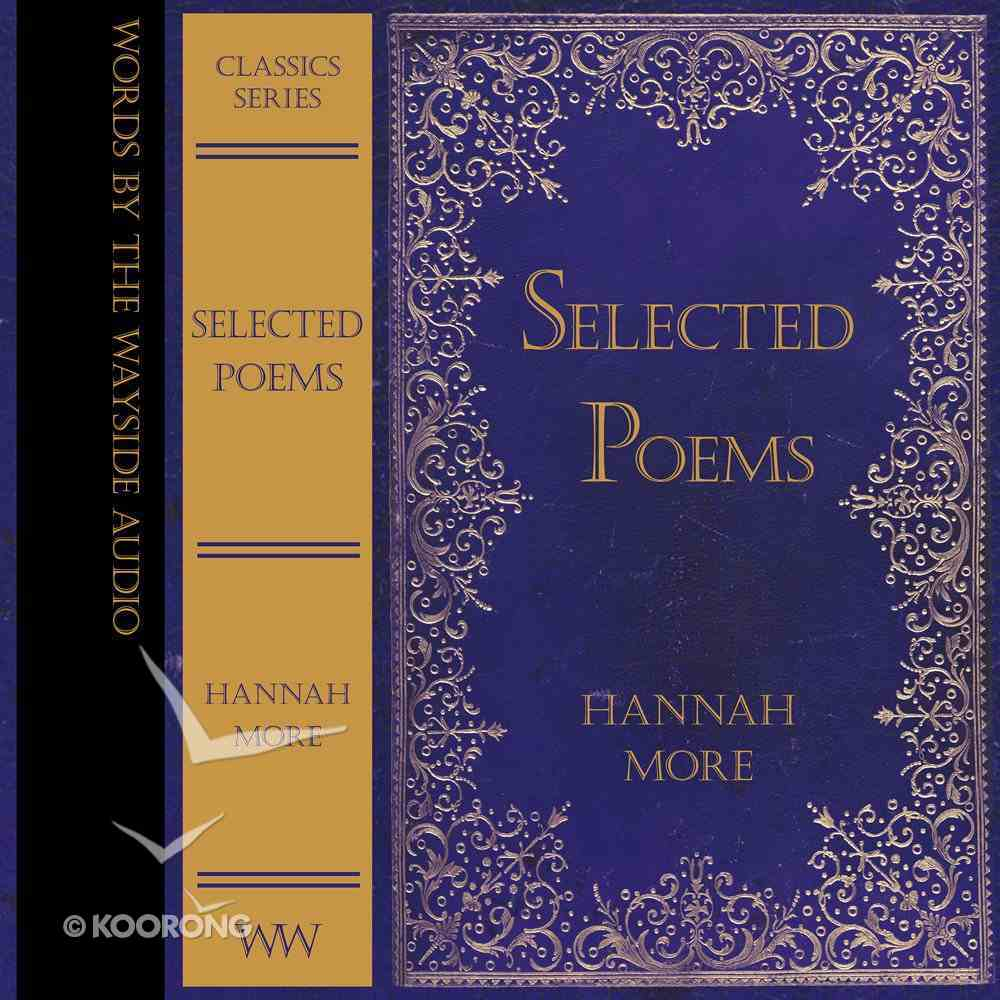 Selected Poems of Hannah More eAudio Book