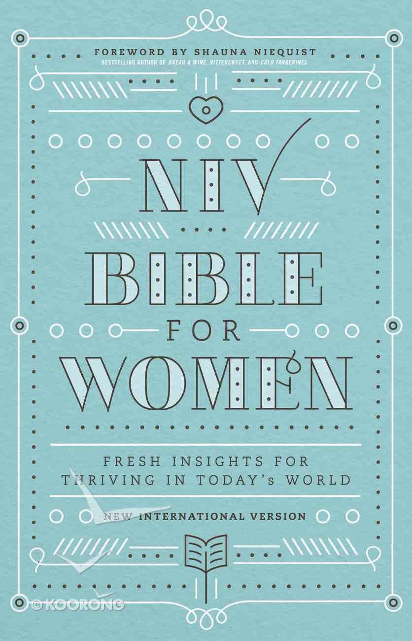 NIV, Bible For Women eBook
