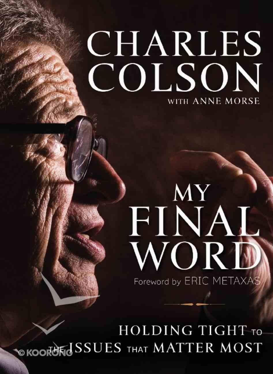 My Final Word eBook