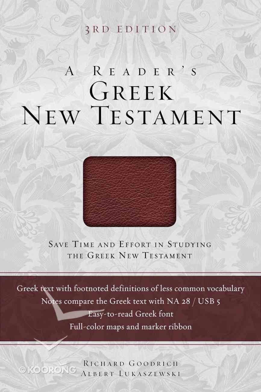 A Reader's Greek New Testament eBook