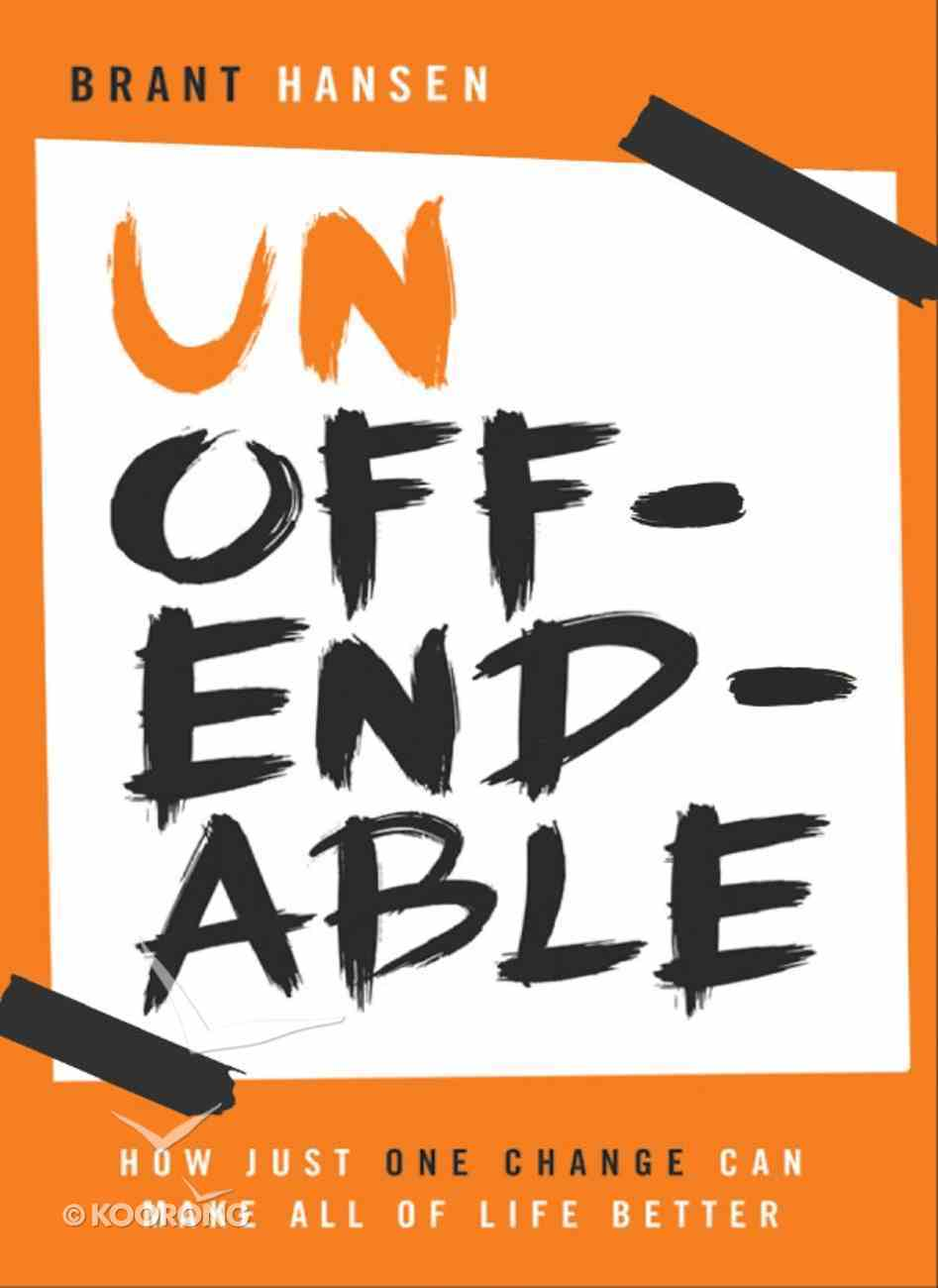 Unoffendable eBook