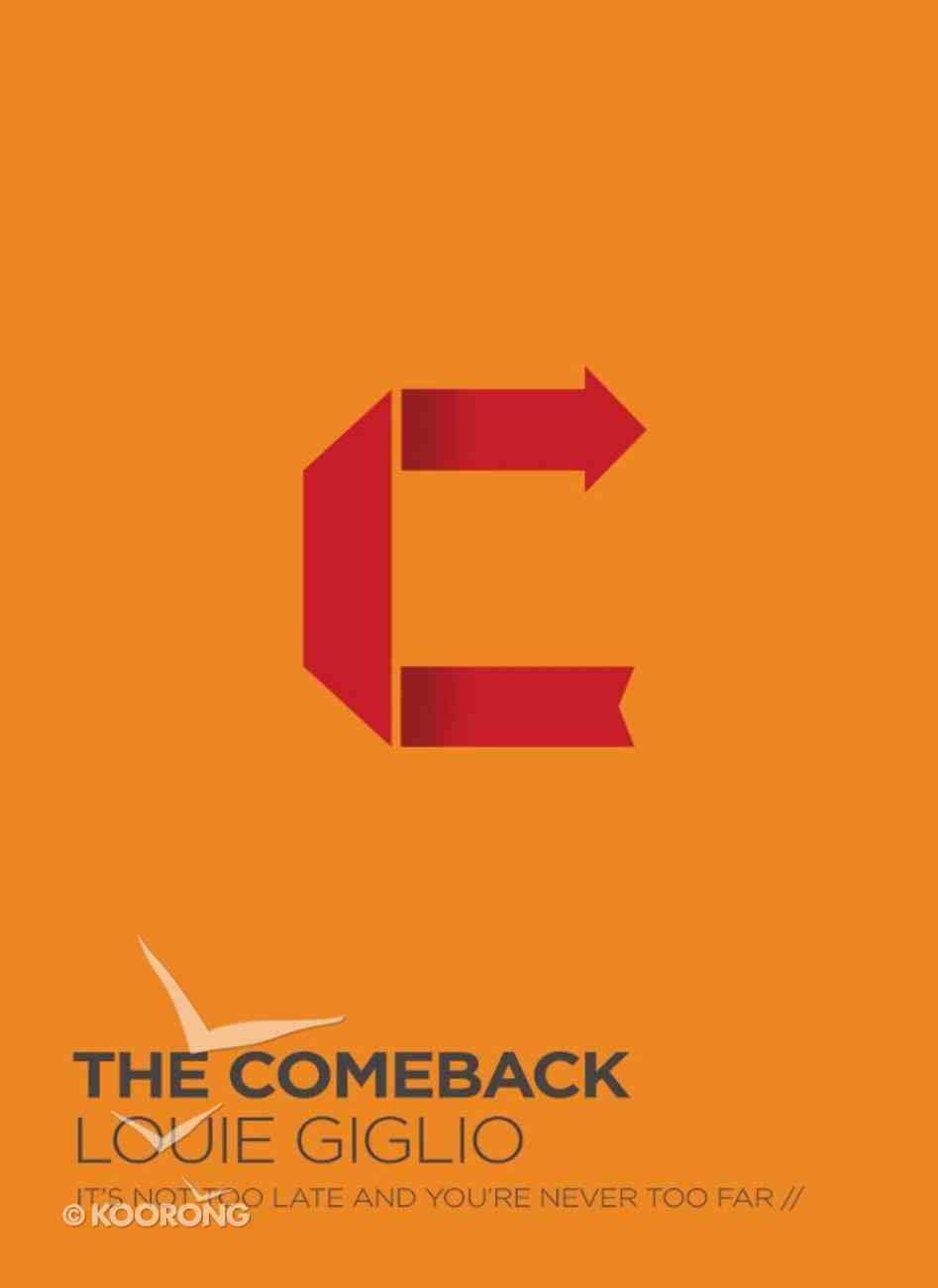 The Comeback Study Guide eBook