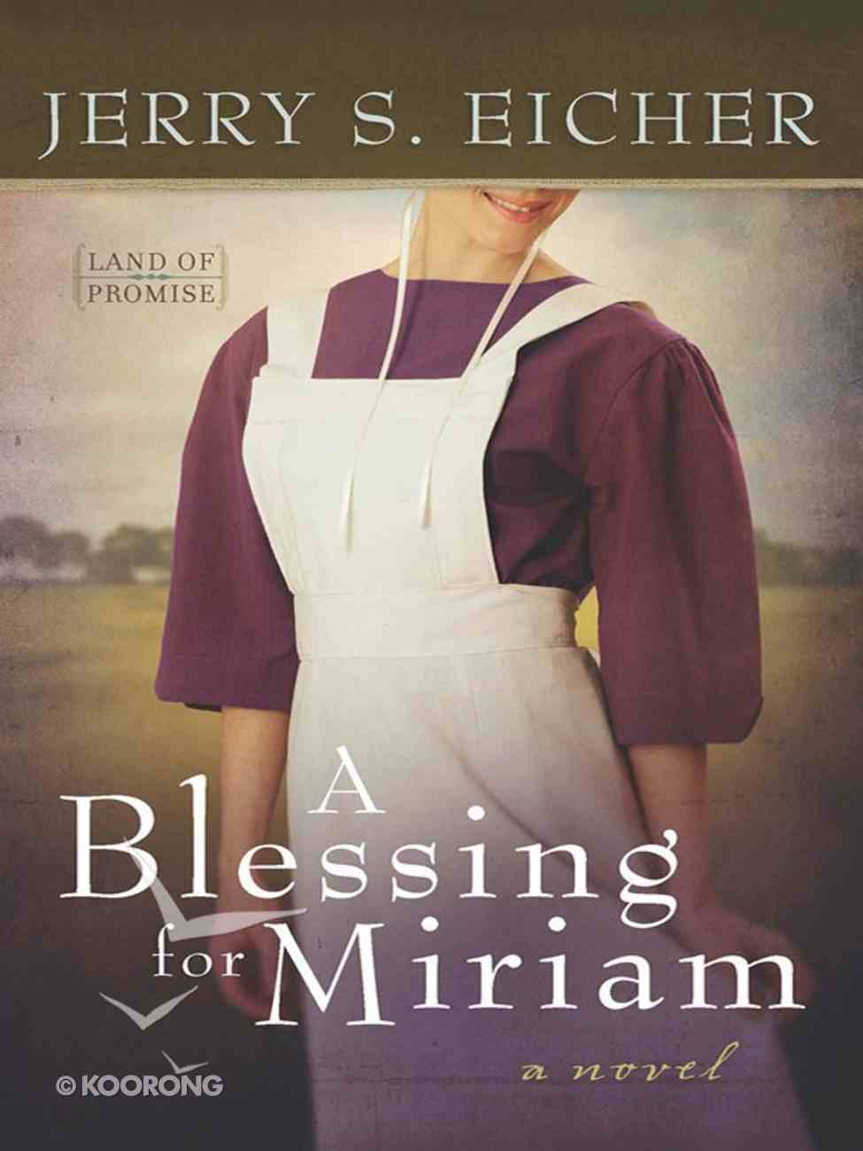A Blessing For Miriam (#02 in Land Of Promise Series) Paperback