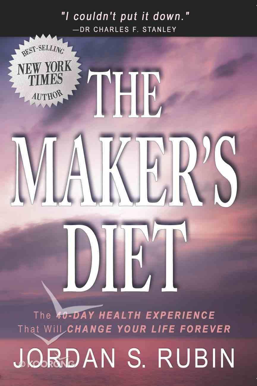 The Maker's Diet eBook