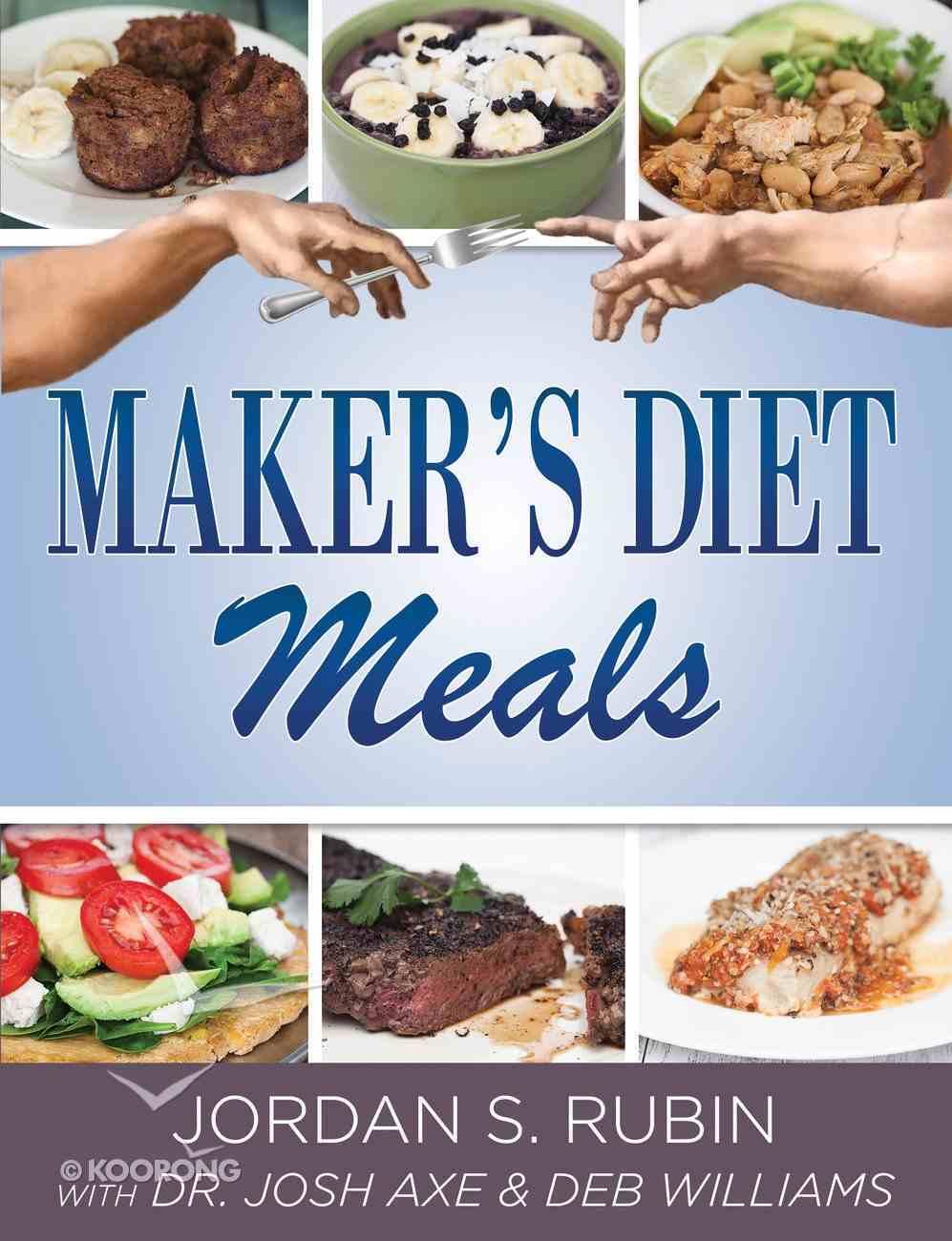 Maker's Diet Meals eBook