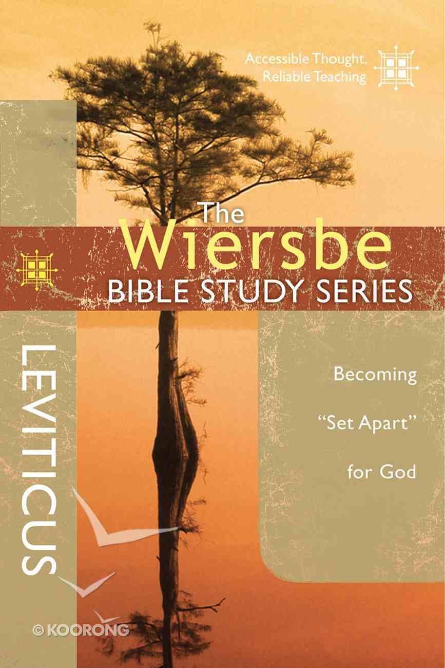 The Leviticus (Wiersbe Bible Study Series) eBook