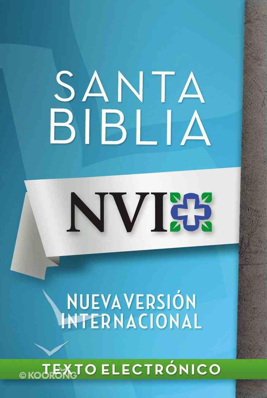 Nvi Santa Biblia Lectura Facil (Spa) (Spanish) eBook