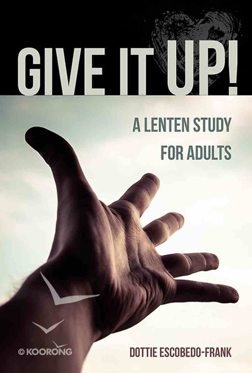 Give It Up! Paperback