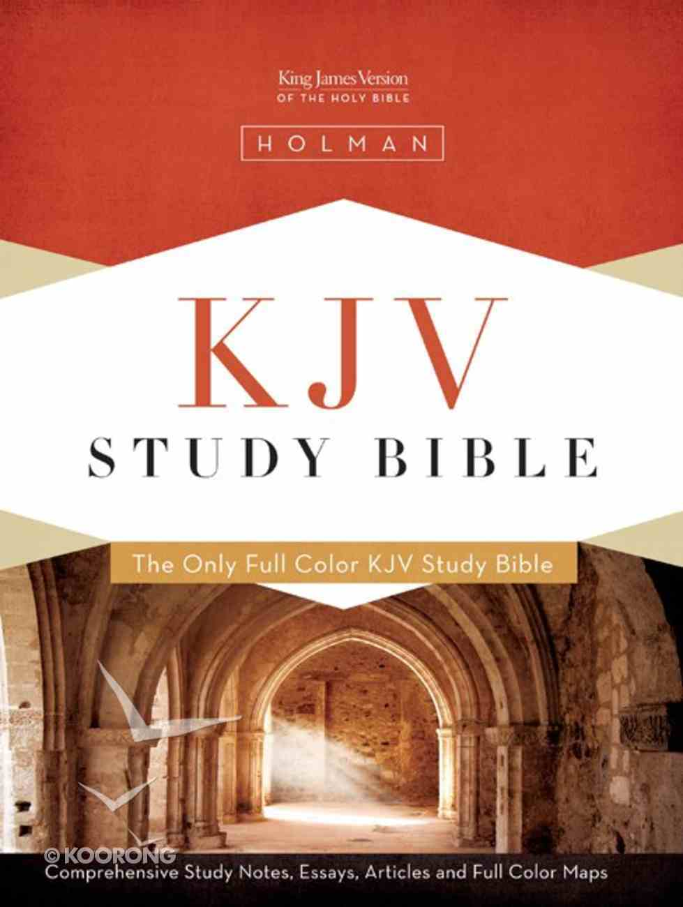 KJV Study Bible Simulated Leather Mantova Brown Imitation Leather