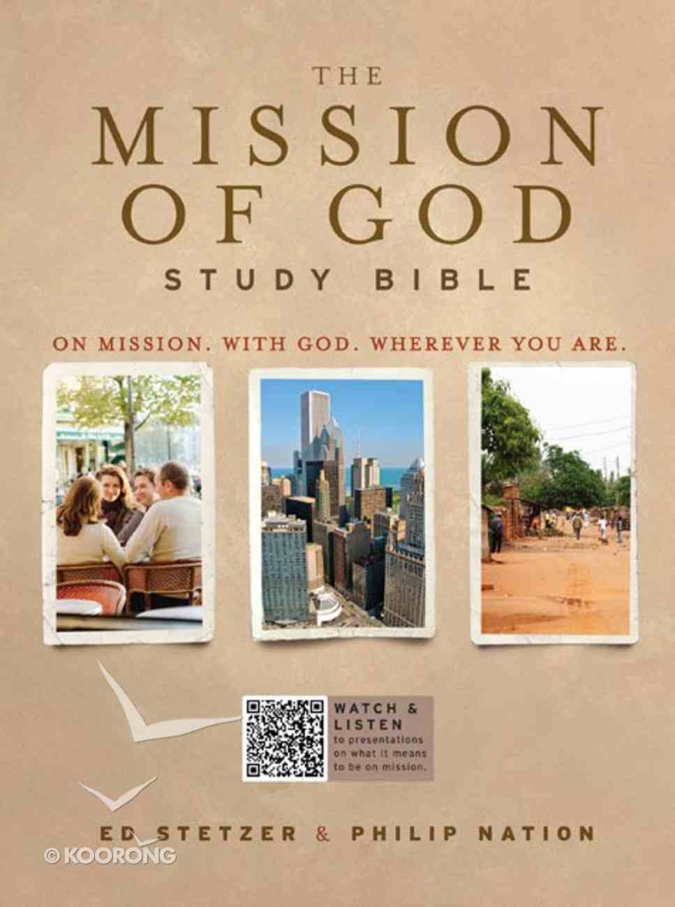 HCSB the Mission of God Study Bible Paperback