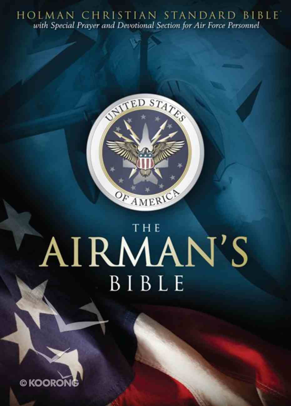 HCSB Airmans Bible, Blue Leathertouch Imitation Leather