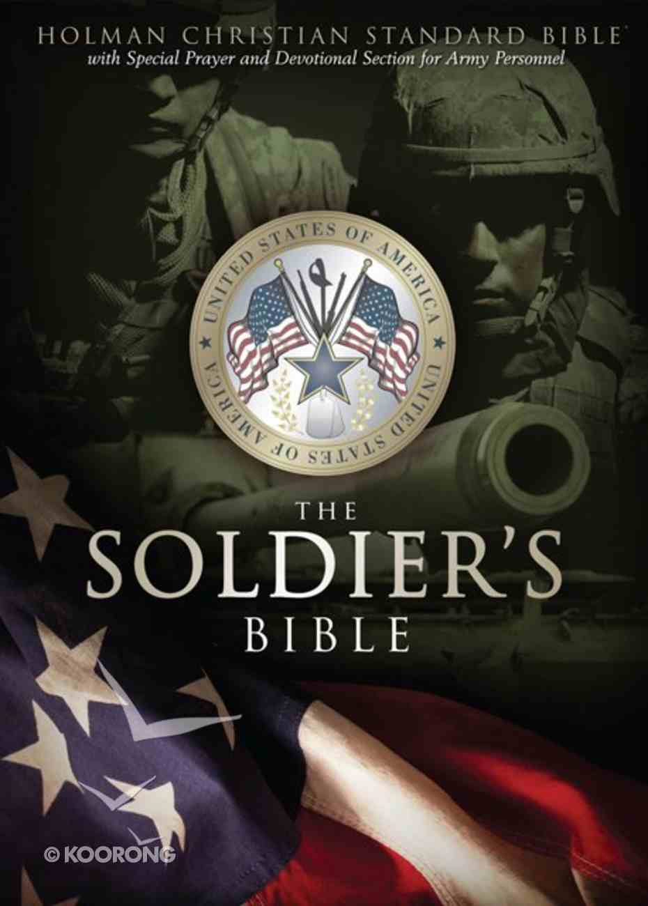 HCSB Soldier's Bible Green Imitation Leather