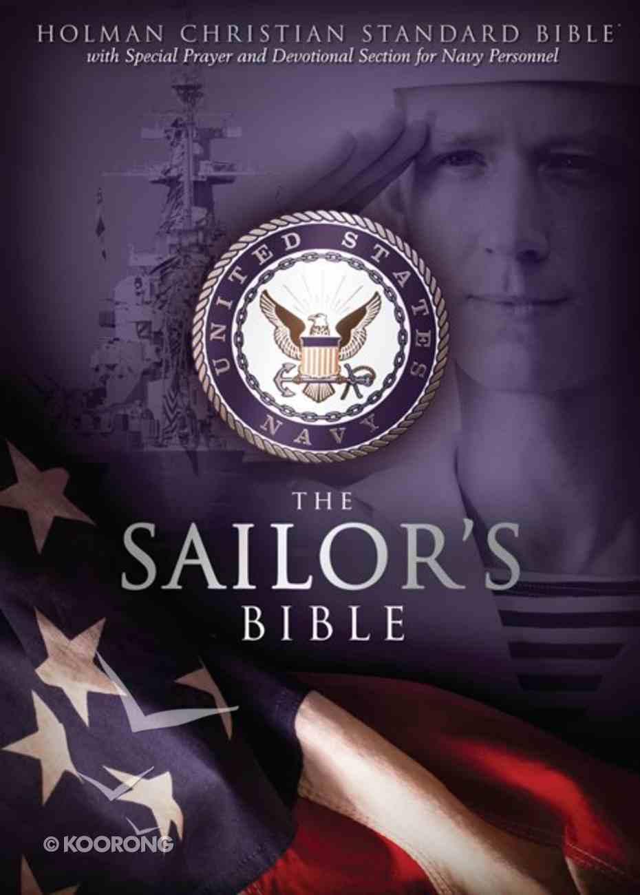 HCSB Sailor's Bible, Black Imitation Leather