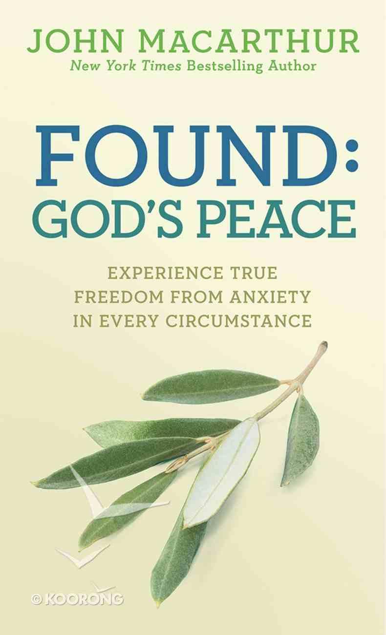 Found: God's Peace eBook
