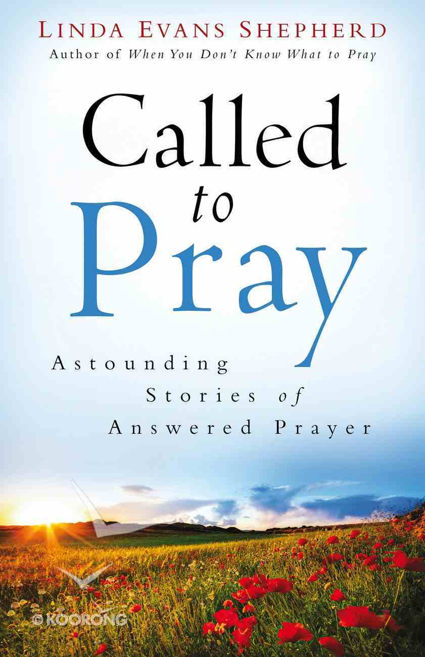 Called to Pray eBook