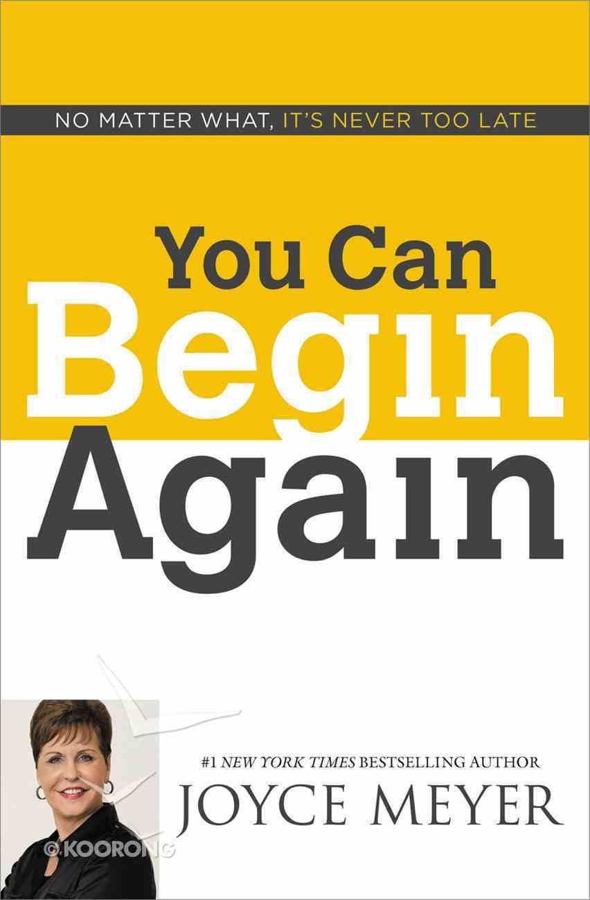You Can Begin Again eBook