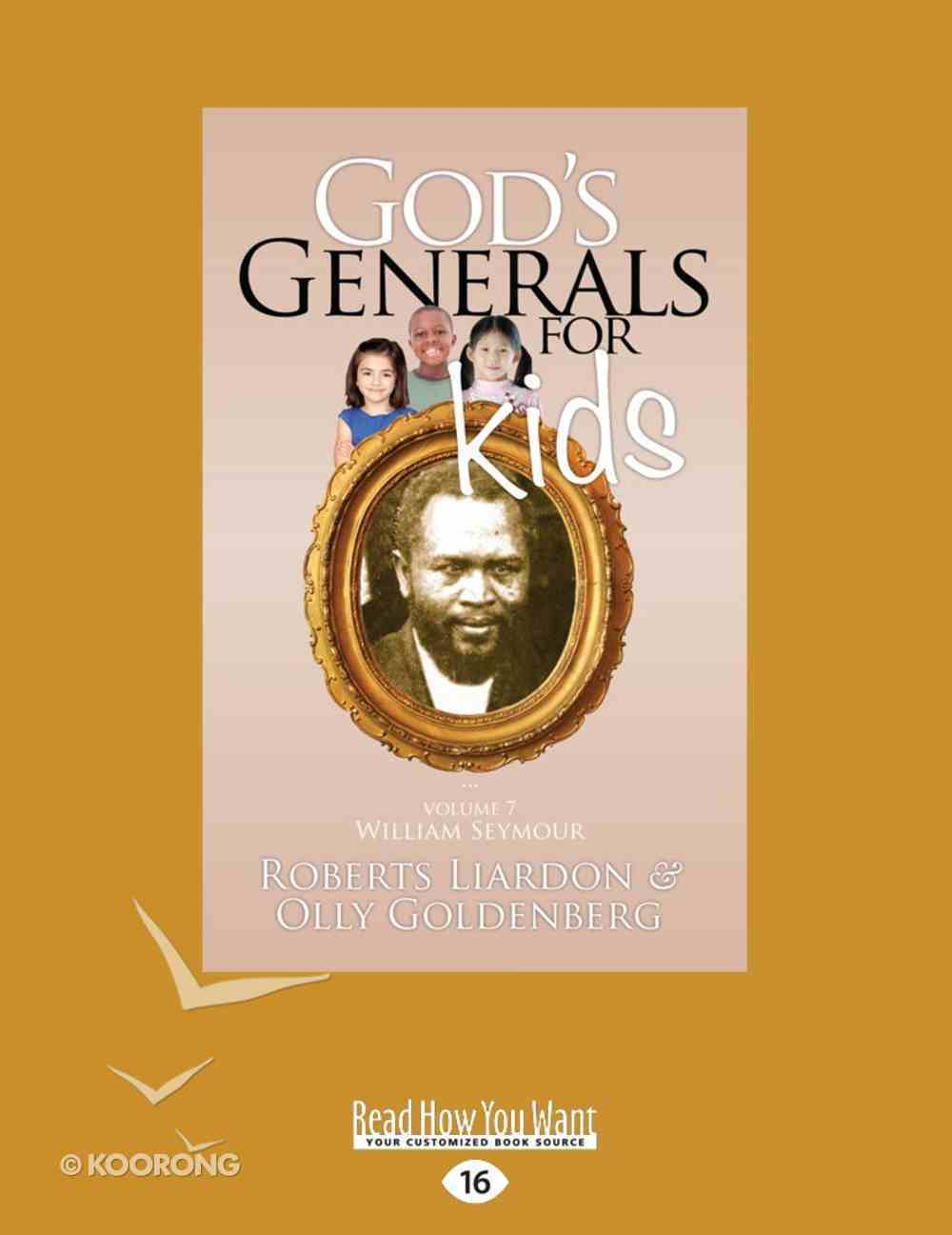 William Seymour (#07 in God's Generals For Kids Series) eBook