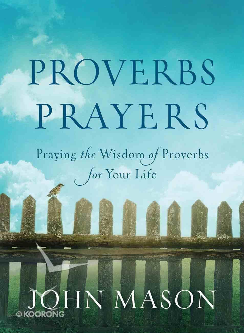 Proverbs Prayers eBook