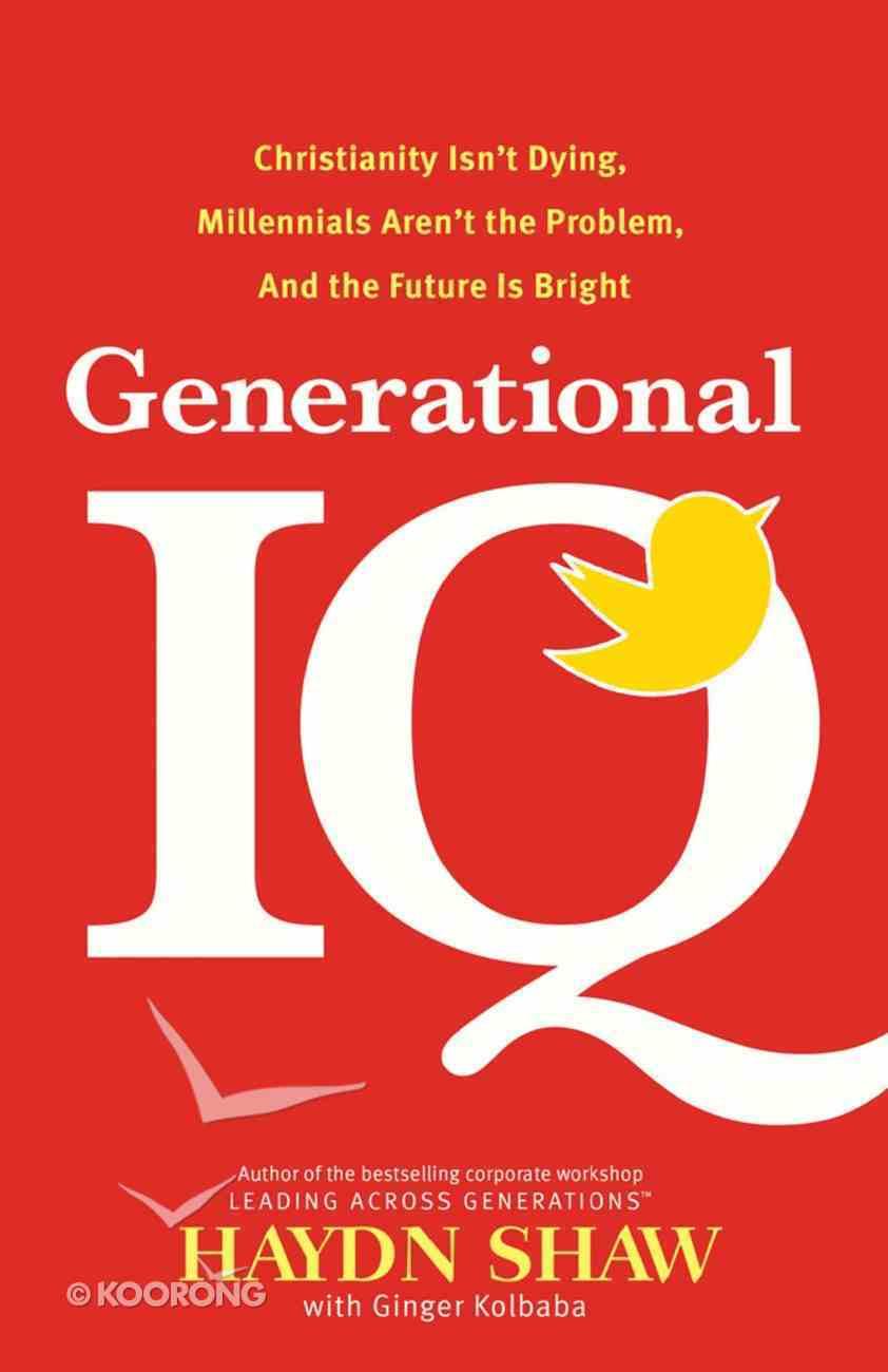 Generational Iq eBook