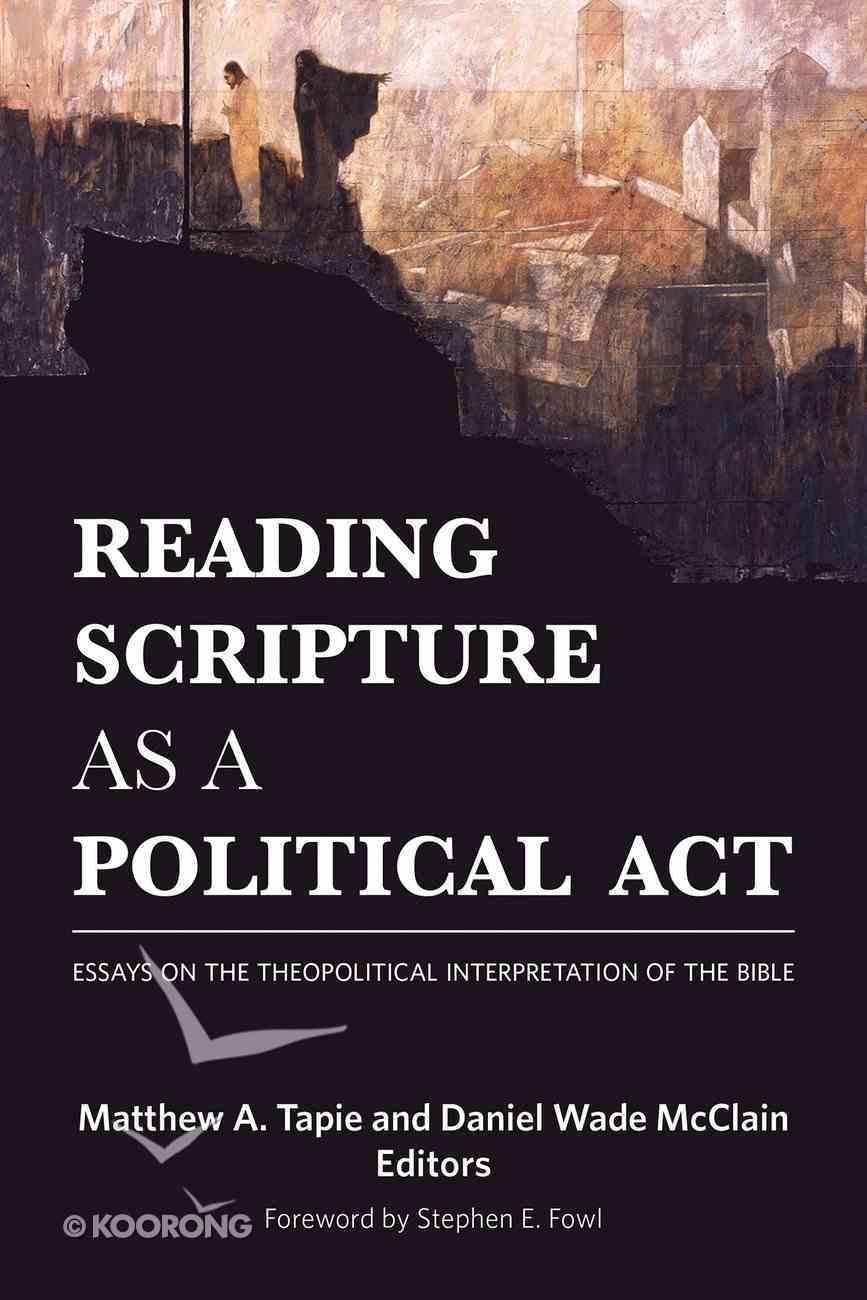 Reading Scripture as a Political Act eBook
