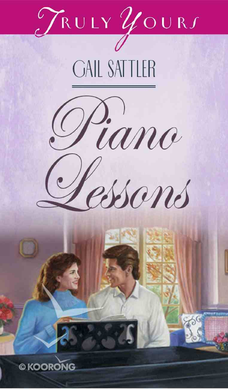 Piano Lessons (#306 in Heartsong Series) Mass Market